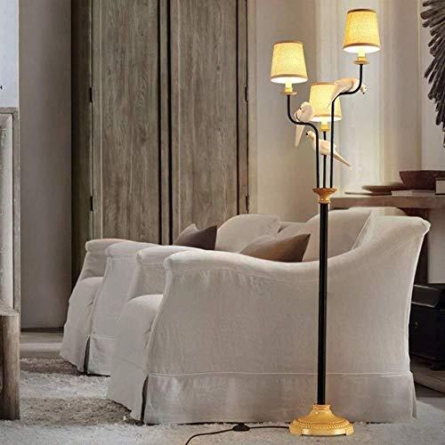 Onior Norte de Europa De pie luminarias nórdicos Modernos de Aves de Tela de pie luminarias for Sala de Estar Dormitorio Estudio Creativo Incluye Bombilla