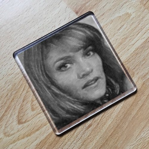 SEASONS Daphne ASHBROOK - Original Art Coaster #js002
