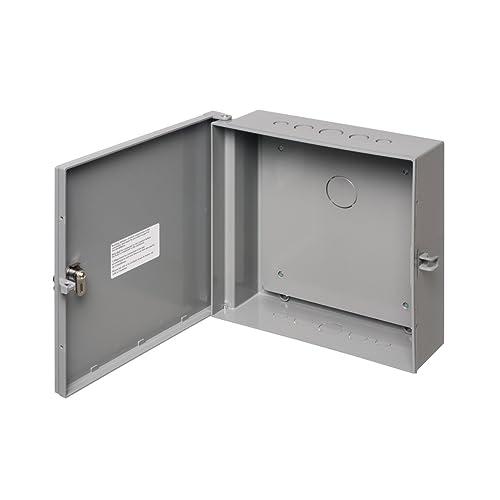 "14/"" x 10/"" x 4/"" NEW Hinged Door Locking Metal Enclosure"