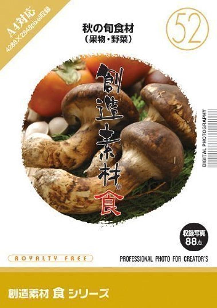会計士簿記係五創造素材 食(52)秋の旬食材(果物?野菜)