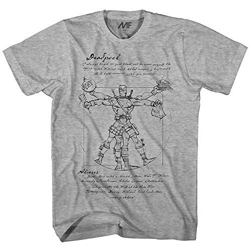 Marvel Deadpool Vitruvian T-Shirt