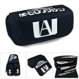 lunanana My Hero Academia Pencil Case, Pencil Bag Cosmetic Makeup Pouch Coin Purse(H03)