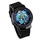 Armbanduhren Hatsune Miku wasserdichte Touch Watch Led Kreative Uhr Männliche Und Weibliche Studenten Uhr-A