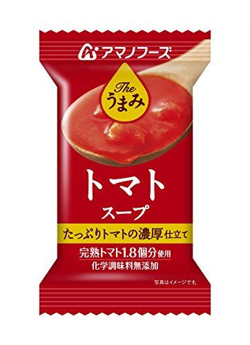 アサヒグループ食品 アマノフーズ Theうまみ トマトスープ 12.5g 1セット 10個 [7389]