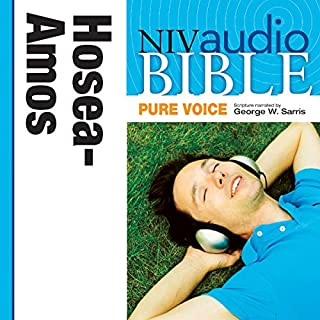 NIV Audio Bible, Pure Voice: Hosea, Joel, and Amos cover art