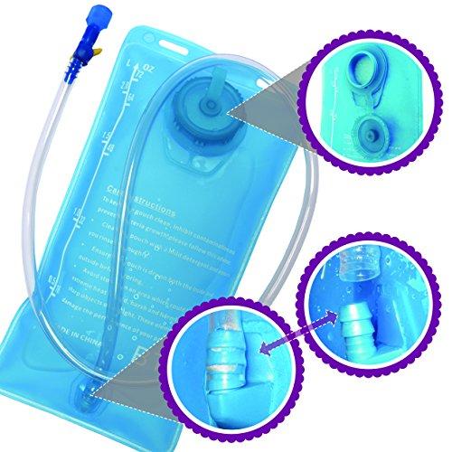 BTR HydroGo 2L Hydration Bladder Bag. BPA Free Water Bag
