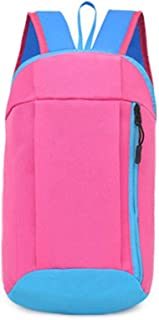 Wultia - Backpack Female Backpack Male Sports Backpacks Hiking Rucksack Men Women Unisex Schoolbags Satchel Bag #T09 HOT Pink