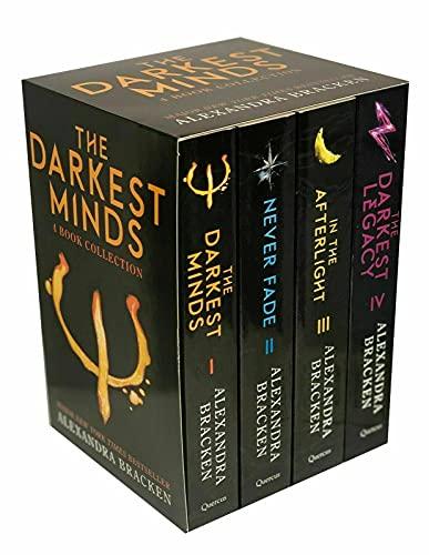 The Darkest Minds Series by Alexandra Bracken 4 Books Collection Set Exclusive Slipcase Edition (The Darkest Minds, Never Fade, In The Afterlight & The Darkest Legacy)