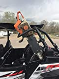 Polaris RZR Roll Bar Chainsaw Mount Fits Round Roll Bars RCM-3012 Hornet outdoors