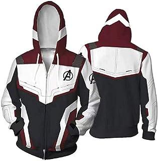 12f9c7ed6c4e2f Avenger  s Endgame Clothing New Hoodie Jacket Classic 3D Print Zipper  Unisex Adult