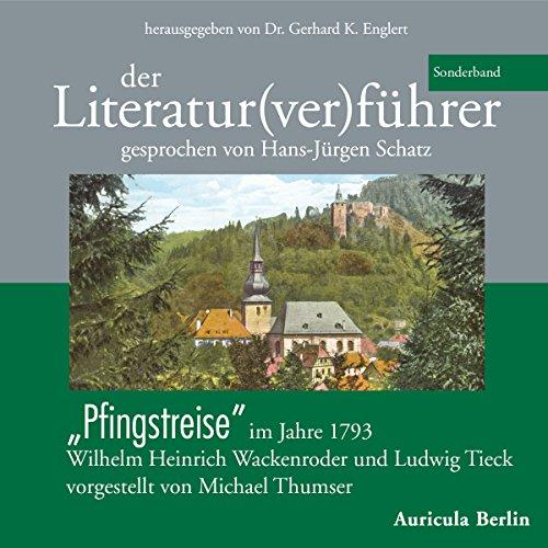Page de couverture de Der Literatur(ver)führer. Pfingstreise im Jahre 1793. Wilhelm Heinrich Wackenroder und Ludwig Tieck - vorgestellt von Michael Thumser