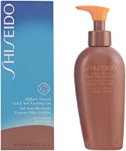 Shiseido Brilliant Bronze Quick Self Tanning Gel (for Face and Body) Gel for Unisex, 5.2 Ounce