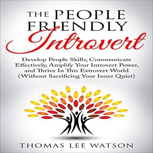 Couverture de The People Friendly Introvert