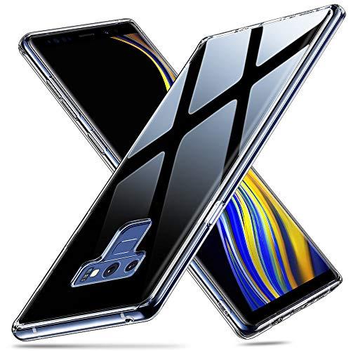 ESR Cover Samsung Galaxy Note 9, Custodia Posteriore in Vetro Temperato 9H [Imita il Retro di Vetro del Samsung Galaxy...
