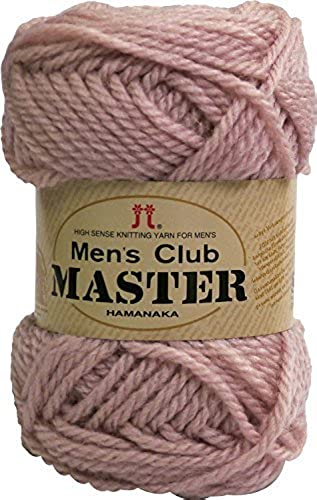 Hommes Club Master Fil BULKY Col.55 Rose 50g 75m 10 Ball Set