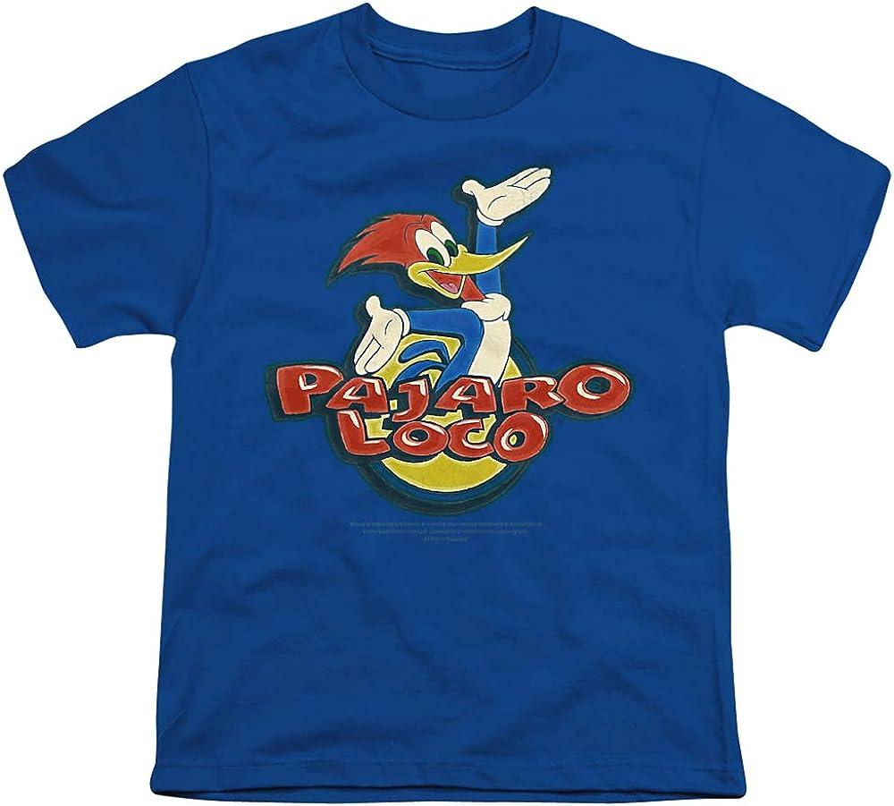 Woody Woodpecker Loco Unisex Youth T Shirt