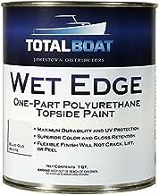 TotalBoat Wet Edge Topside Paint (Blue-Glo White, Quart)
