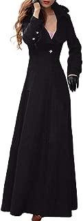 Jacket Women's Winter Lapel Slim Coat Trench Jacket Long Parka Overcoat Outwear
