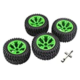 Tongina Remote Control Cars Upgrade Tyres 110cm for Wltoys 12428 144001 12428-A 1/12