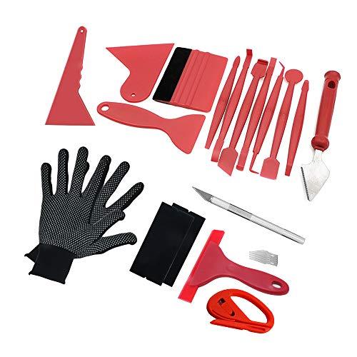 BeiLan Auto Vinyl Wrap Tool Fenster Tint Kit für Auto Film Tönung Set Anwendung Installation oder Entfernung