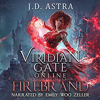 Viridian Gate Online: Firebrand: A litRPG Adventure     The Firebrand Series, Book 1              Auteur(s):                                                                                                                                 J. D. Astra,                                                                                        James Hunter                               Narrateur(s):                                                                                                                                 Emily Woo Zeller                      Durée: 10 h et 17 min     1 évaluation     Au global 5,0