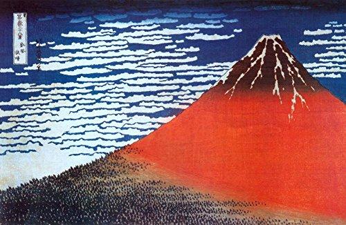Mount Fuji by Katsushika Hokusai Poster Art Print 60x90 cm inch