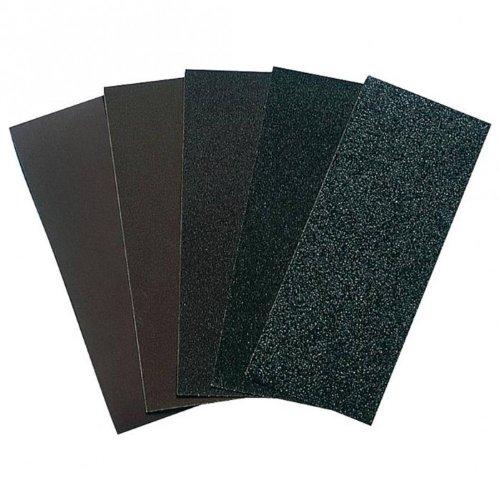 20x Schmirgelpapier, Schmirgelleinen, Schleifbogen, Schleifpapier - Leinen Größe: 230x280 mm - verschiedene Körnungen, Körnung:K. 80