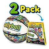 Ollyball - The Ultimate Indoor Play Ball for Kids and Parents!… (Ollyball Two Pack)