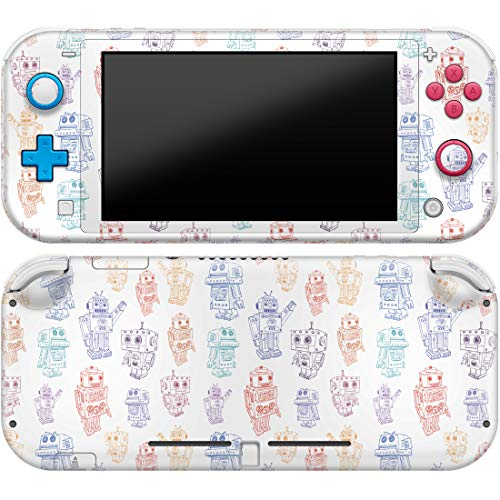 Cavka Vinyl Decal Skin Compatible with Console Switch Lite (2019) Stickers with Design Graphical Robots Durable Characters Rorotic Cute Kid Cover Print Faceplate Protector Full Set Wrap Protection