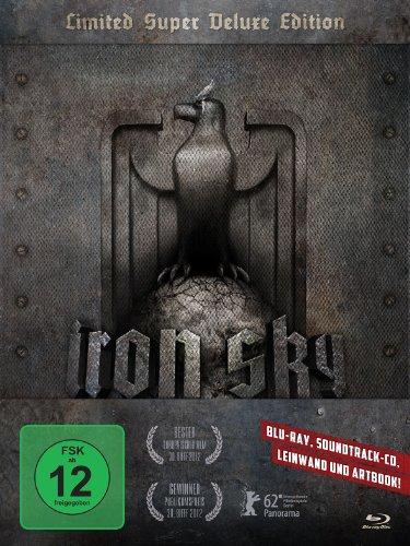 Iron Sky - Wir kommen in Frieden!(Limited Super DeluxeEdition inkl. A4-Rahmenleinwand + Soundtrack + Blu-Ray + Artbook) - Exklusiv bei Amazon.de