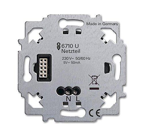 Busch-Jaeger Netzteil-Einsatz 6710 U ZigBee Light Link Netzgerät für Unterhaltungselektronik 4011395189207