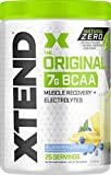 Scivation XTEND Natural Zero BCAA Powder Blueberry Lemonade | Free of Artificial Sweeteners, Flavors, and Chemical Dyes | Post Workout Drink with Amino Acids | 7g BCAAs for Men & Women | 25 Servings