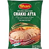 Shan - Chakki Atta Flour (100% Whole Wheat), 10 Pound