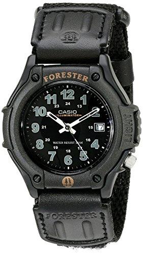 Casio Men's Sport Watch Quartz Nylon Strap, Black, 22...
