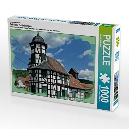CALVENDO Puzzle Schönes Ostthüringen 1000 Teile Lege-Größe 64 x 48 cm Foto-Puzzle Bild von Gerdhold Müller