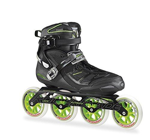 Rollerblade Tempest 110 C - Patines en línea para hombre, color negro/verde,...