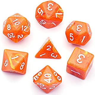 UDIXI Polyhedral DND Dice Sets Clouds Dice for Dungeons and Dragons Pathfinder RPG MTG Table Gaming Dice