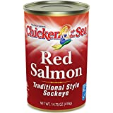Chicken of the Sea Red Salmon, 14.75 Ounce Cans (Pack of 12)
