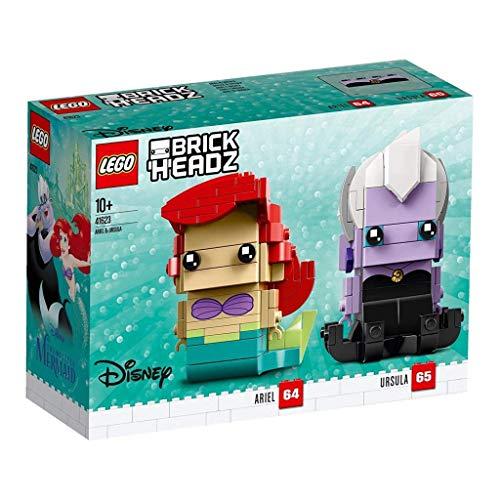 LEGO Brickheadz Arielle & Ursula (41623) - Kit di Montaggio