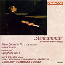 Best stenhammar piano concerto no 1 Reviews