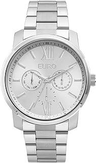 Relógio Euro Metal Trendy Feminino - PRATA