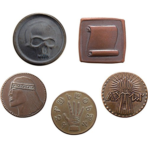 Shire Post Mint Conan Set #1, Five Coins from The Hyborian Age