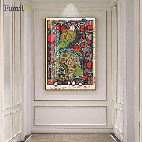 JXFFF Handgemalt DIY(40x50cm Kein Rahmen) Vintage Vogue abstrakte DekorationDIY Ölfarbe durch Anzahl Kit Van Gogh SonnenblumeAnfänger, kreatives Gemälde auf Leinwand