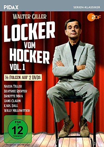 Locker vom Hocker, Vol. 1 / Die ersten 14 Folgen der Kultserie (Pidax Serien-Klassiker) [2 DVDs]
