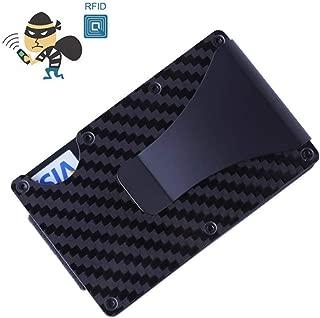 Sale The Ridge Wallet Carbon Fiber Money Clip Minimalist Front Pocket Slim RFID