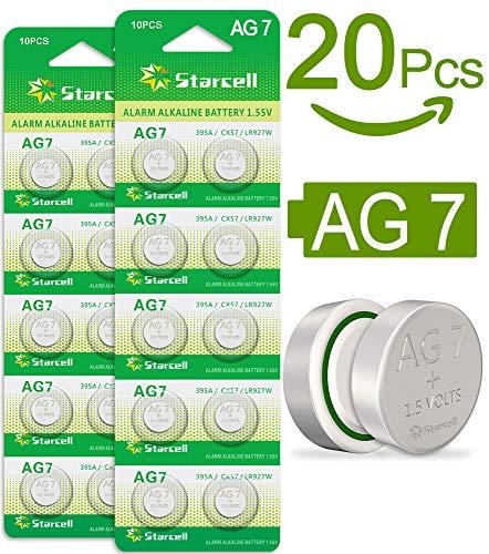 Act 20 BATTERIE A BOTTONE PILE AG7 1,5v LR57 SR926 SG7 395A SR57 LR926