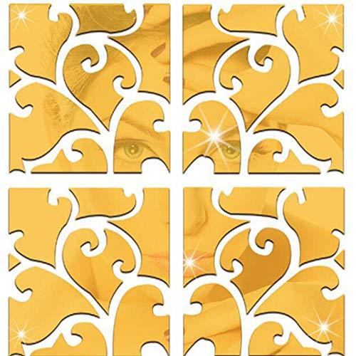 Artoy 32 Piezas de Espejo Habitacion de Patrón de Espejos para Habitacion de