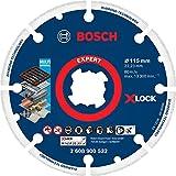 Bosch Professional 1 x Discos de corte de diamante Expert Diamond Metal Wheel X-LOCK, para Hierro fundido, 115 mm, Accesorios Amoladora pequeña