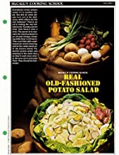 McCall's Cooking School Recipe Card: Salads 3 - Old-Fashioned Potato Salad (Replacement McCall's Recipage or Recipe Card For 3-Ring Binders)