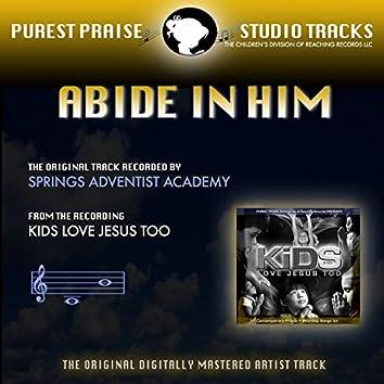 Abide in Him (Purest Praise Series Performance Tracks) - Single